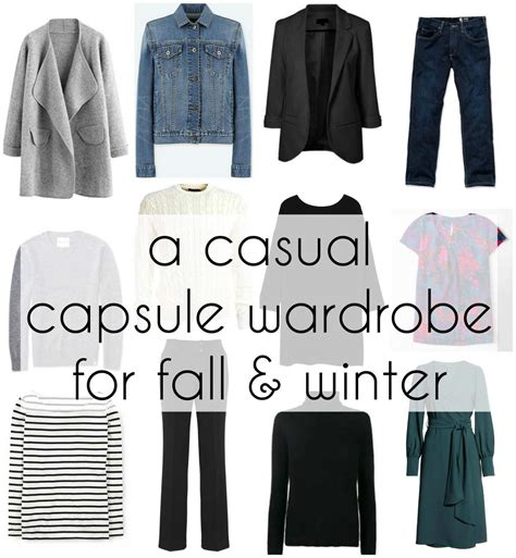 Where Can I Buy A Wardrobe by A Casual Capsule Wardrobe For Fall To Winter Wardrobe Oxygen