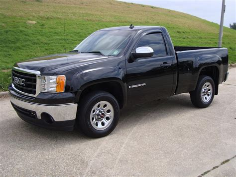 miramballer  gmc sierra  regular cab specs  modification info  cardomain