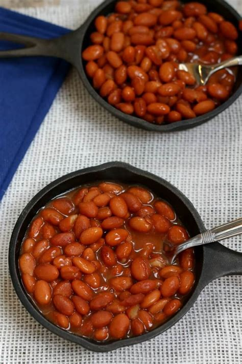 slow cooker savory baked beans  days  slow cooking