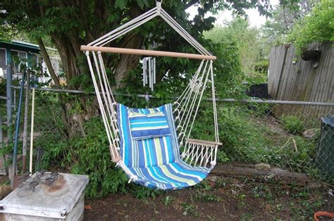 How To Make Hammocks by How To Make A Rope Hammock Chair Ebay