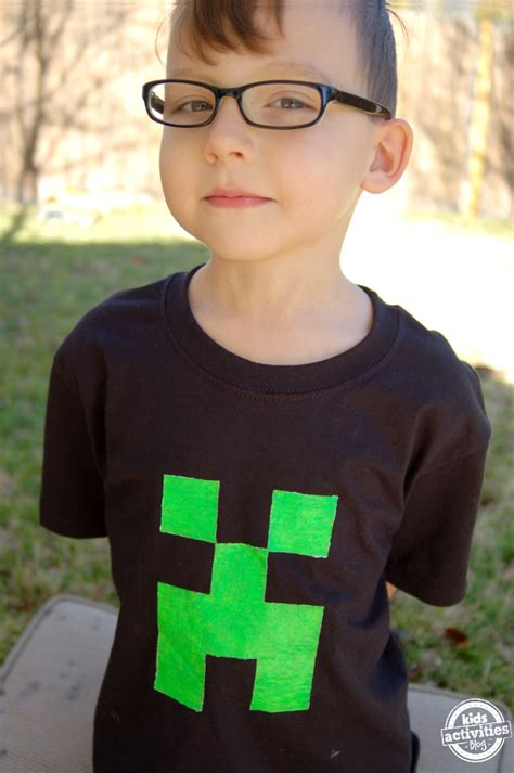 minecraft creeper  shirt
