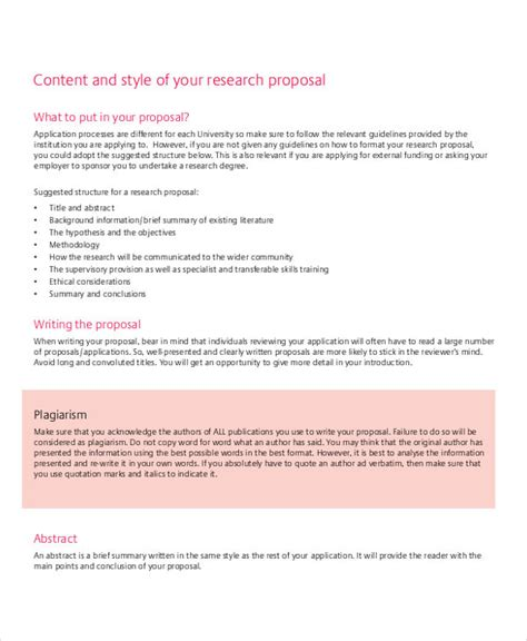 Usually, research methods can be broadly classified into two categories. Research Proposal Templates | 10+ Free Word & PDF Samples ...