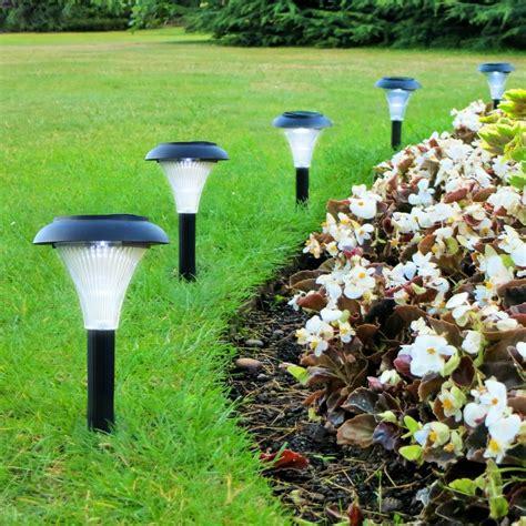 decorative solar yard lights solar led outdoor light set of 10 garden lighting path