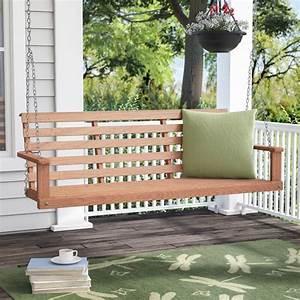 August Grove Rosean Porch Swing  U0026 Reviews