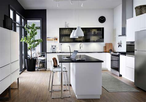 cuisine noir et blanche la cuisine et blanche plus contemporaine que jamais