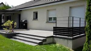 Garde Corp Terrasse : garde corps terrasse romuald noirot ~ Melissatoandfro.com Idées de Décoration