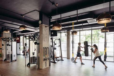 creatively designed fitness center  madrid