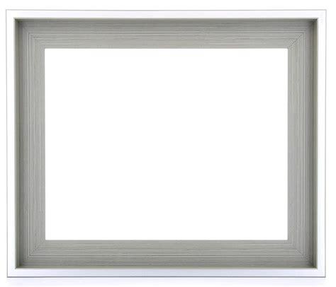 cadre a l americaine encadrement am 233 ricain pour toile ou photo city gris perle boite am 233 ricane cadre gris label