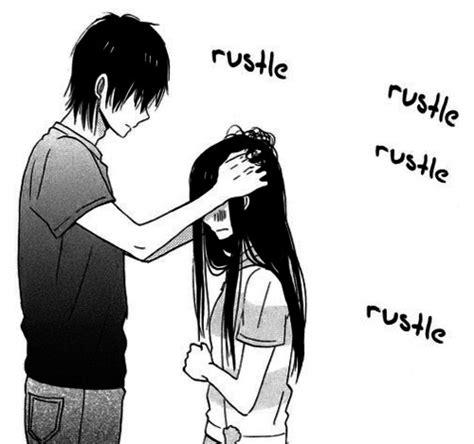 anime couple black and white wallpaper anime couple black and white cute funny kawaii image