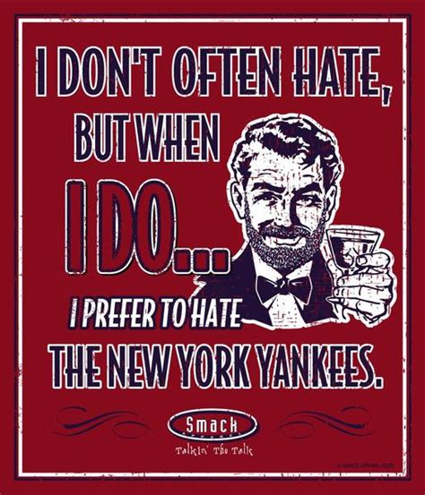 Yankees Suck Memes - boston red sox fans i prefer to hate anti yankees metal sign smack apparel