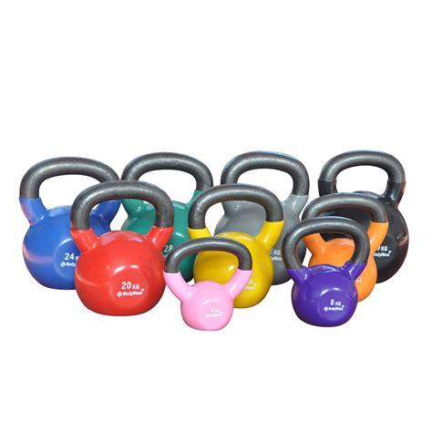 kettlebell vinyl coated bodymax kettlebells 8kg purple iron cast tesco kettle training fitness powerhouse direct bell yellow 12kg 40kg 16kg