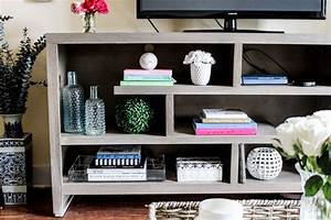 How To Style Your TV Stand Or Console Table Pretty In