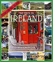 days  ireland  wall calendar donovan gerard