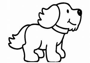 Puppy clipart black and white - Clipartix