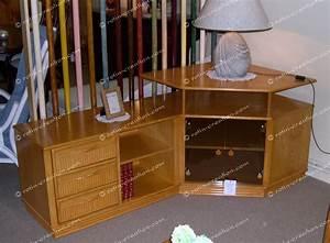 Meuble D Angle Pour Tv : meuble d 39 angle tv hifi colombo avec rangement meuble ~ Teatrodelosmanantiales.com Idées de Décoration