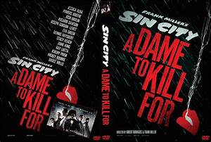 Sin City: A Dame to Kill For DVD Cover (2014) Custom Art