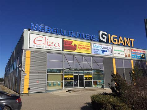 Mēbeļu outlets Gigant - mēbeļu veikali Latvijā