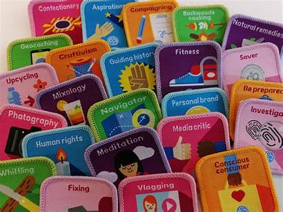 Badges Guide Interest Girlguiding Anglia Mixology Fitness
