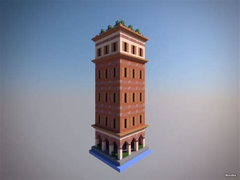classic brick building minecraft architecture minecraft construction minecraft city