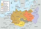Map of German Administration of Poland, 1939   Facing ...