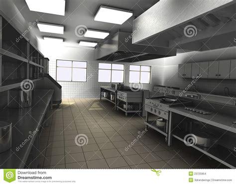 kitchen interior designers 专业餐馆厨房内部 库存图片 图片 23725954