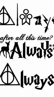 Always Harry Potter HP car tablet laptop vinyl decal sticker