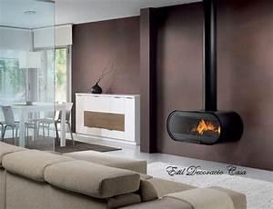 Poele Bois Design Moderne : un large foyer pour ce po le fontionnant au bois po le ~ Zukunftsfamilie.com Idées de Décoration