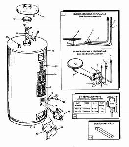 Ao Smith Fcg100244e Gas Water Heater Parts