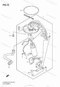 Suzuki Motorcycle 2008 Oem Parts Diagram For Fuel Pump