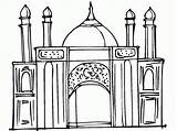 Coloring Ramadan Pages Printable Mosque Masjid Colouring Islamic Eid Studies Mosques Activities Getcolorings Islam Drawing Coloringpages4kidz Kid Activity Projects Getcoloringpages sketch template