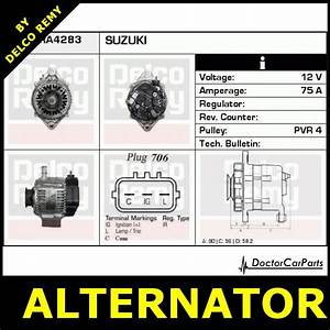 Alternator Suzuki Liana  Jimny  Ignis  Swift  Sx4 Dra4283