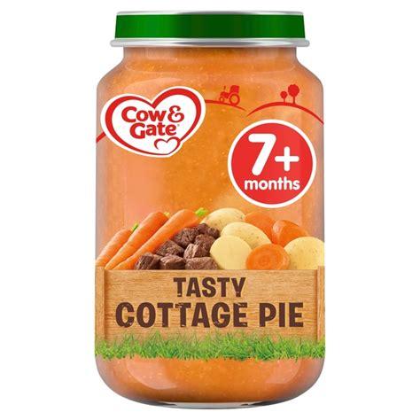 Tasty Cottage Pie Morrisons Cow Gate Tasty Cottage Pie Jar 200g Product