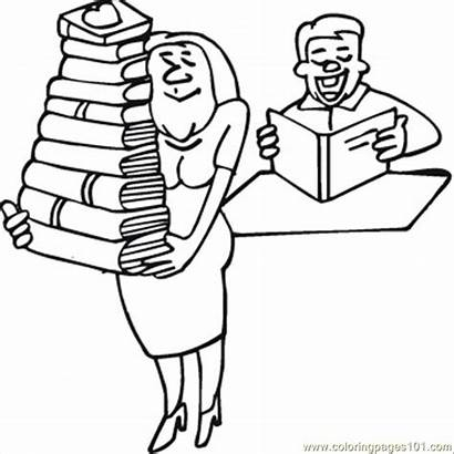 Coloring Hard Pages Woman Books Printable Coloringpages101
