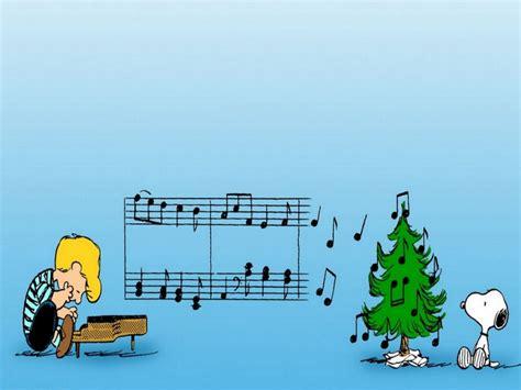 Peanuts Gang Christmas Wallpaper