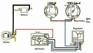 Marchal Alternator Trouble--wiring Or Ground
