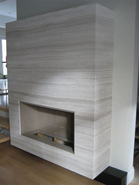 fireplace surround made with bianco marble for