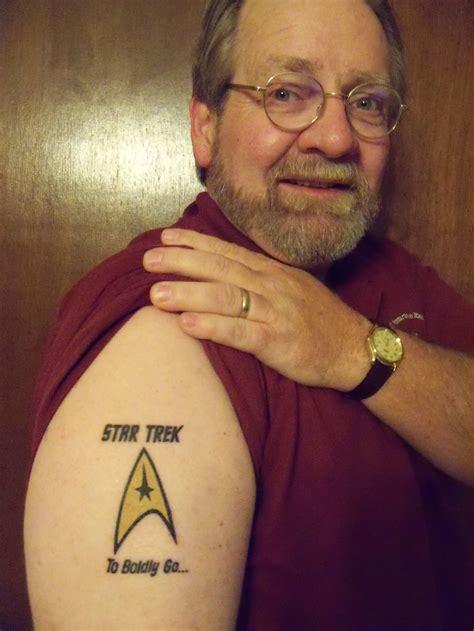 star trek tattoos  shoulder