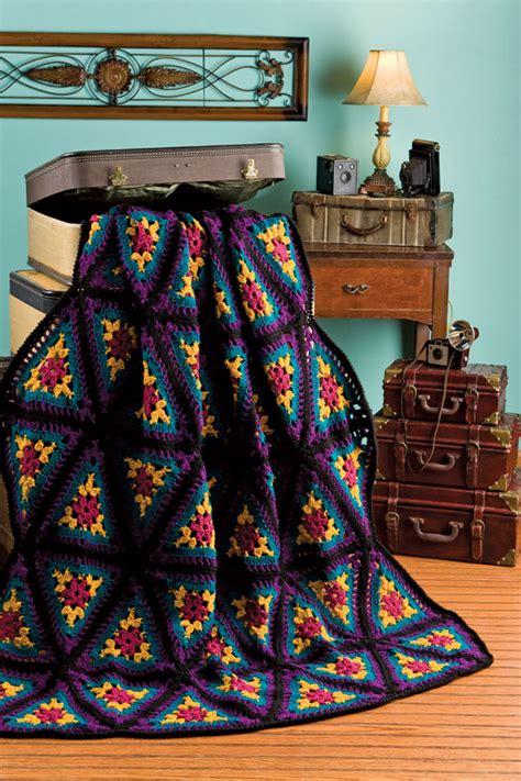 kaleidoscope afghan crochet pattern crochet kingdom