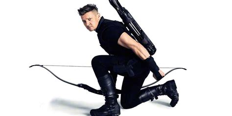 Avengers Endgame Jeremy Renner Shares Video Hawkeye