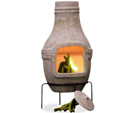 Chiminea Grill Rack chiminea with grill rack stand outdoor bbq fireplace