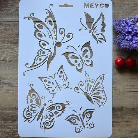 cheap arte de diy mariposa capas plantillas para paredes pintura scrapbooking estaci 243 n sellos