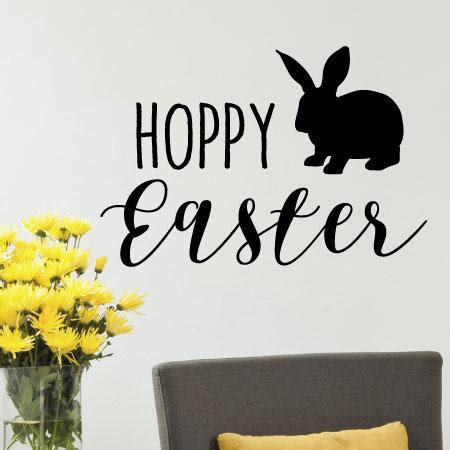hoppy easter wall quotes decal wallquotescom