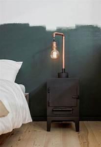Lampe Chevet Industrielle : lampes de chevet ~ Teatrodelosmanantiales.com Idées de Décoration