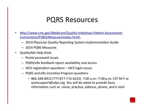 Qualitynet Help Desk Address by Physician Quality Reporting System Pqrs