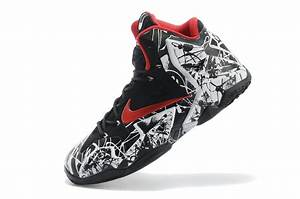 "Nike LeBron 11 ""Graffiti"" White/University Red-Black For ..."