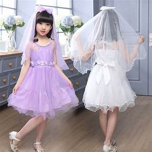 Girls dresses for wedding gowns kids wedding summer party for Wedding dress for kid girl
