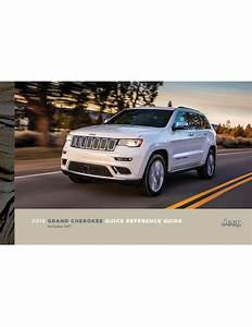 Jeep 2018 Grand Cherokee Suv Quick Reference Guide