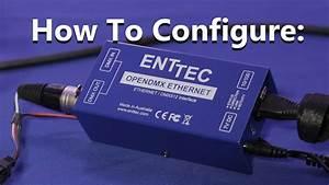 Enttec Ode 70306 With Poe Power Over Ethernet Open Dmx Artnet
