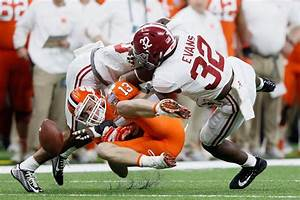 Clemson Alabama Depth Chart Scouting Report Lb Rashaan Evans Alabama The Falcoholic