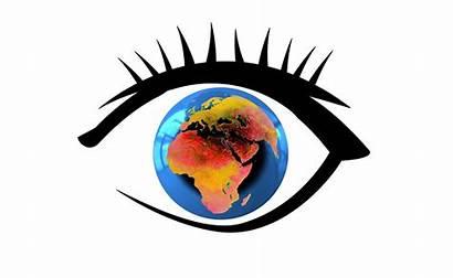 Eye Globe Earth Globalization Pixabay Worldwide